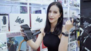 แอนนี่ กับ Ram Mount อุปกรณ์สุดเจ๋งที่ทำให้คุณดู โทรศัพท์มือถือ ได้ขณะขี่มอเตอร์ไซค์