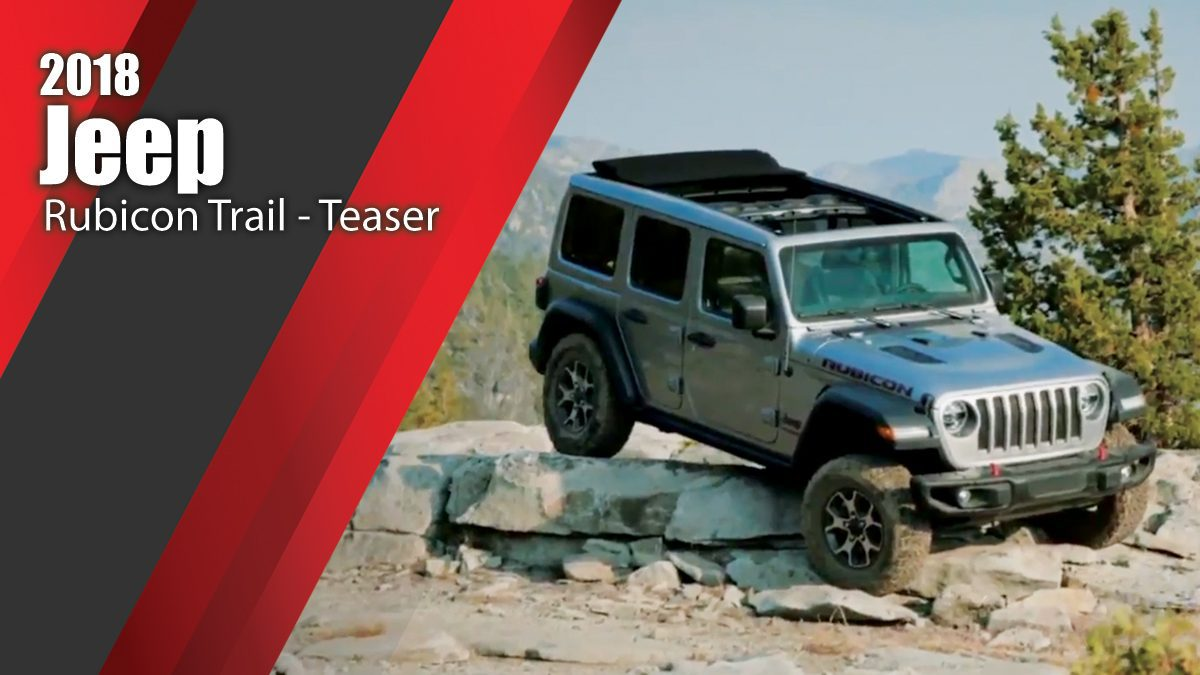 2018 Jeep Rubicon Trail Experience