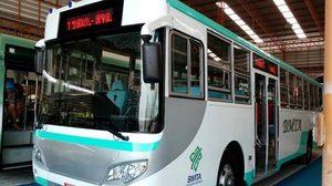 ไฉไลกว่าเดิม! เปิดโฉมรถเมล์ต้นแบบ หลังนำรถเมล์เก่ามาปรับปรุง