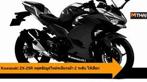 Kawasaki ZX-25R หลุดข้อมูลใหม่จะมีแรงม้า 2 ระดับ ให้เลือก