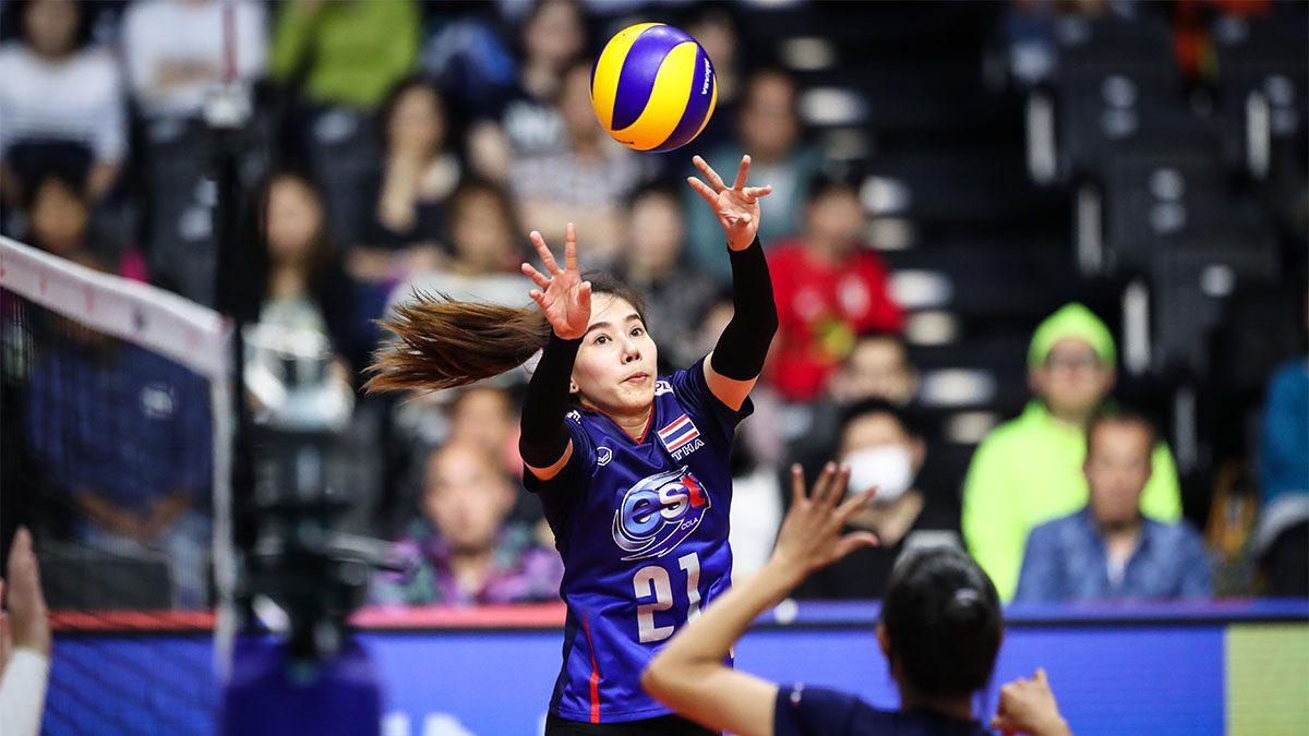 ต้านไม่อยู่! ลูกยางสาว 'ทีมชาติไทย' พ่ายสาวแซมบ้า 3 เซตรวด ศึก เนชั่นส์ ลีก