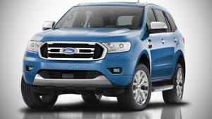 อัพเดท Ford Endeavour (Ford Everest) ปี 2018 กับตะแกรงหน้าใหม่