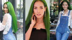 #มั่นใจแบบนี้ค่ะ แฮชแท็กเด็ดจาก 'เมญ่า' กับเบื้องหลังของผมสีเขียวสุดแซ่บ