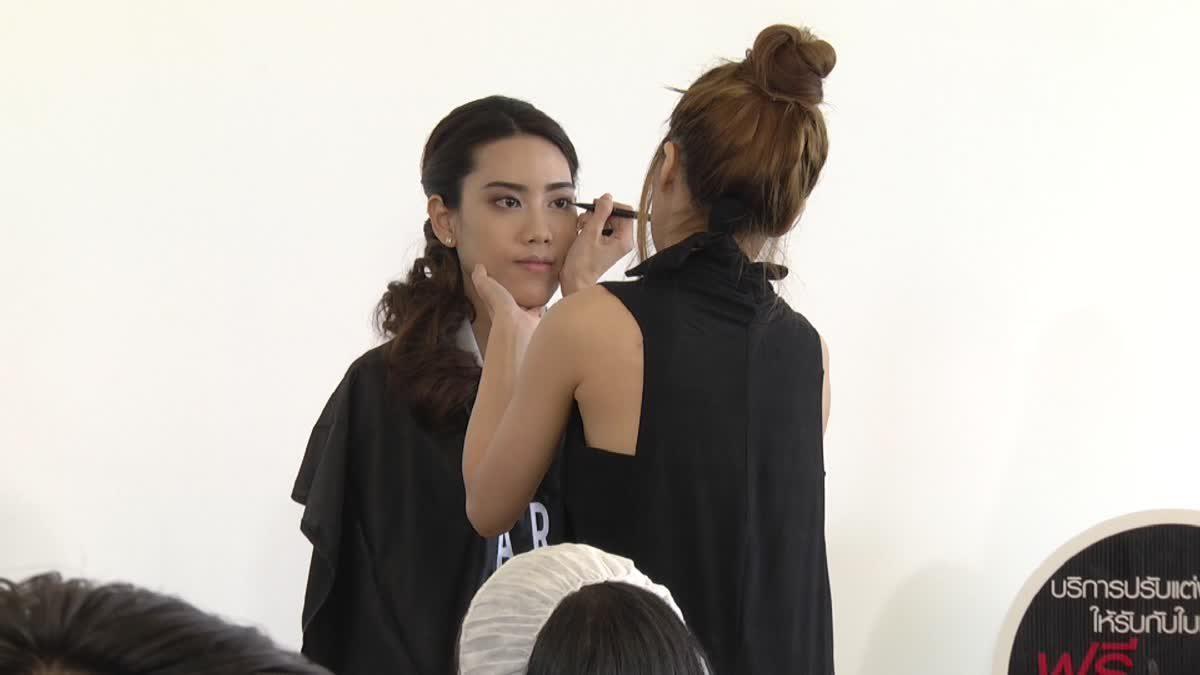 Beauty Influencer คนสวยจาก MThai คิตตี้ พรสิริ วิลเลียมส์ สอนสาวๆ สะบัดแปรง How - To แต่งหน้าออกงาน