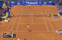 """""""นิชิโคริ"""" เข้ารอบ 3 เทนนิสบาร์เซโลน่าโอเพ่น"""