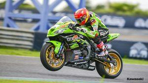 Kawasaki พร้อมส่ง ติ๊งโน๊ต ซีเค ล่าแชมป์ PTT BRIC Superbike 2018