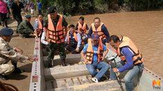ผู้ว่าฯณรงค์ศักดิ์ สั่งเร่งช่วยเหลือชาวบ้านน้ำท่วม กระทบ 3 อำเภอ