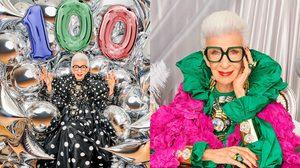 Iris Apfel แฟชั่นไอคอนชื่อดัง เพิ่งฉลองวันเกิดครบ 100 ปี และความจี๊ดจ๊าดที่ไม่แผ่วเช่นเคย