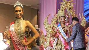 สวยคมจนมงต้องลง! แป้งหอม คว้า 3 ตำแหน่ง จาก Miss Tourism International 2017