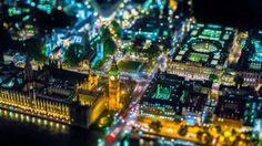 ส่องลอนดอนยามราตรี ด้วยภาพถ่ายทางอากาศสุดอลัง