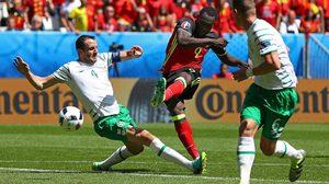 ลูกากู ซัดเบิ้ล! เบลเยียม รัวกระสุนถล่ม ไอร์แลนด์ 3-0 ยูโร 2016 กลุ่มอี