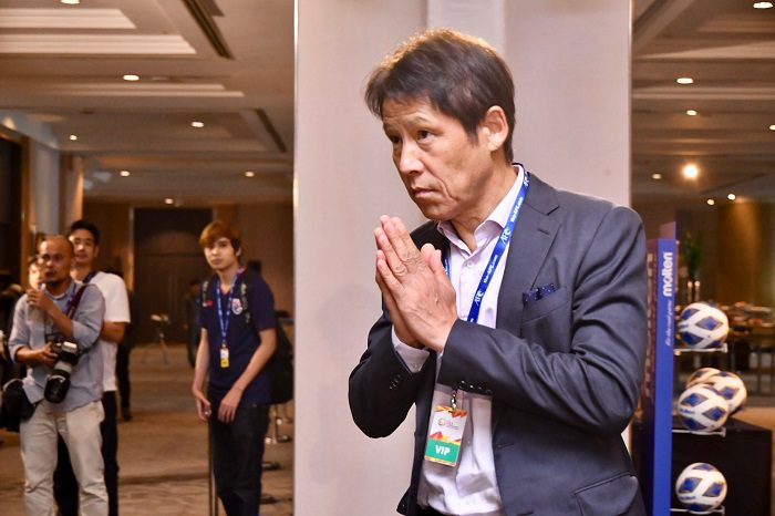 นิชิโนะ เผย ไทยมีปัญหากองหน้าในการเตรียมทีมคัดโอลิมปิก