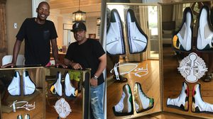 Jordan Brand ทำสนีกเกอร์ขึ้นมาเป็นพิเศษเพื่อมอบให้กับ Ray Allen ที่ได้เข้า Hall of Fame