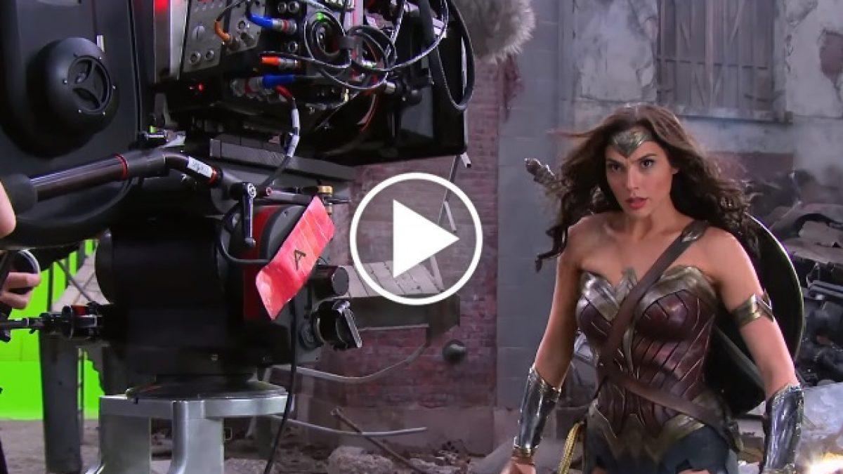 ฉากไหนจริง ฉากไหนหลอก! เบื้องหลังการถ่ายทำ Wonder Woman ห้ามพลาด!