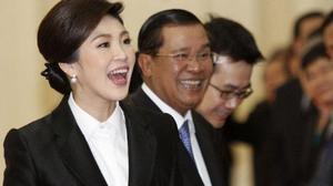 ฮุนเซน ยันเอง กัมพูชา ไม่ใช่เส้นทางหลบหนี ยิ่งลักษณ์