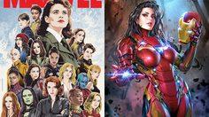 สวยสังหาร! รวมตัวซุปเปอร์ฮีโร่สาวยกทีม The Avengers  ที่ทั้งเท่และงานดีสุดขีด