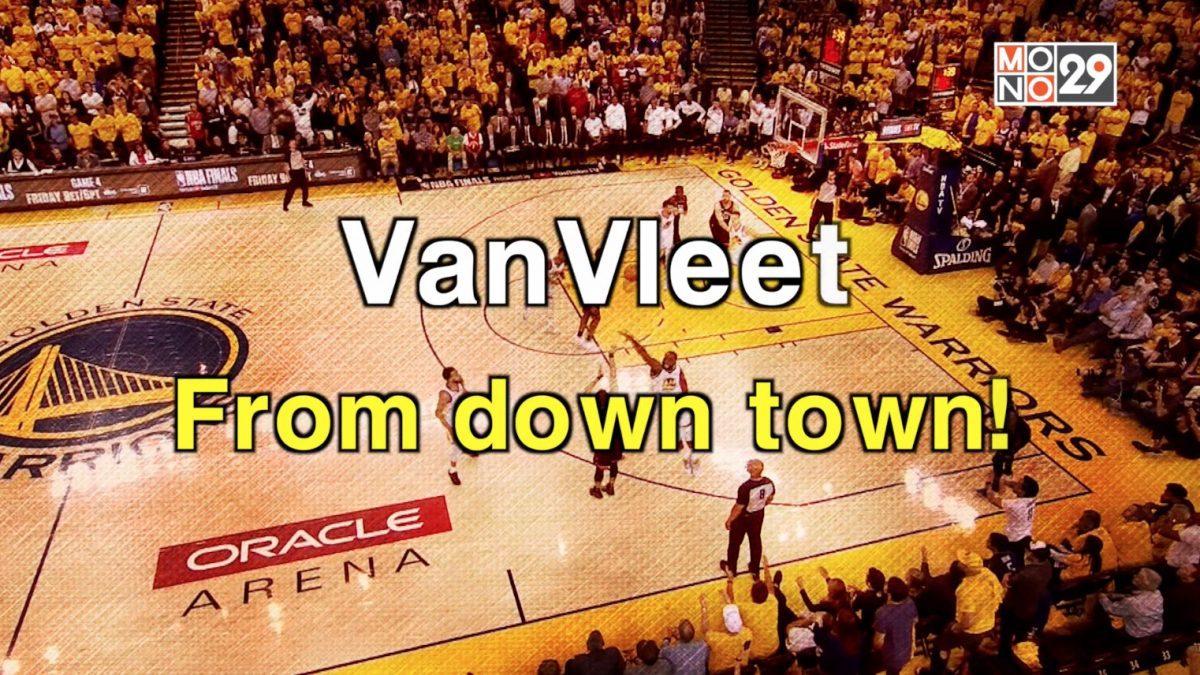 VanVleet. From down town!