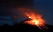 ภูเขาไฟโกลิมาในเม็กซิโกปะทุ