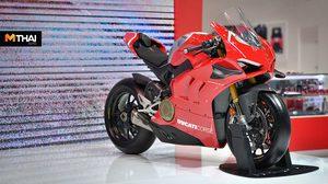 Ducati เปิดตัว Panigale V4 R พร้อม 2 รุ่นใหม่ในงาน Motor Show 2019