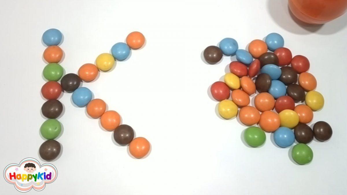 ลูกอม ABC | เรียน ABC | เอบีซี | A-Z | ภาษาอังกฤษ | Learn The Alphabet | ABC with Candy