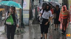 เช้านี้ฝนถล่ม! ทั่ว กทม. ต่อเนื่องตลอดทั้งคืน แนะขับขี่ระวัง