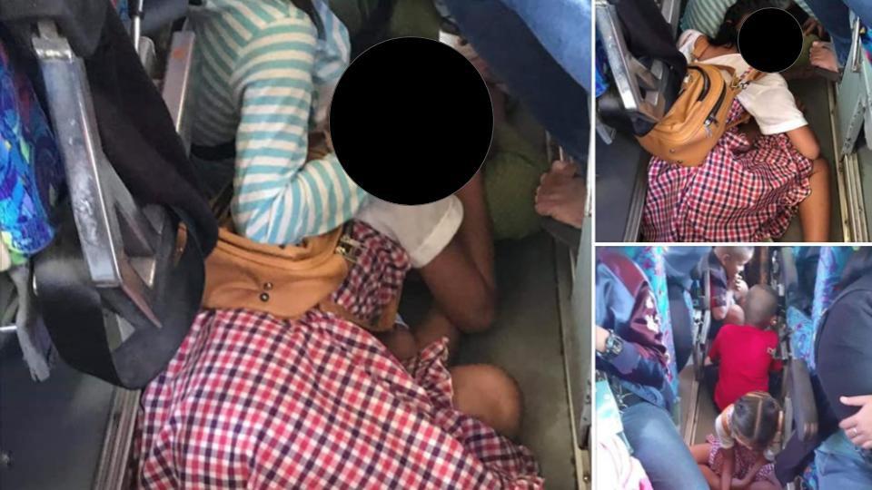 สั่งถอนใบอนุญาต-ปรับเงินคนขับรถเมล์ หลังรับผู้โดยสารเกินอัตรา ปล่อยนั่ง-นอน บนพื้น