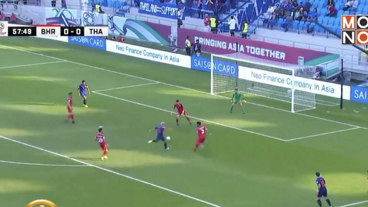 ชนาธิปซัดชัยนำช้างศึกเฉือนบาห์เรน 1-0