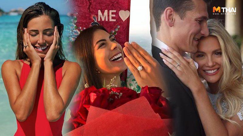 ทิ้งทวนจักรวาล! 3 นางงาม มิสยูนิเวิร์ส 2018 ถูกเซอร์ไพรส์ ขอแต่งงานในประเทศไทย
