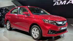 Honda Amaze ตัวล่าสุดเปิดตัวแล้วที่งาน Auto Expo 2018