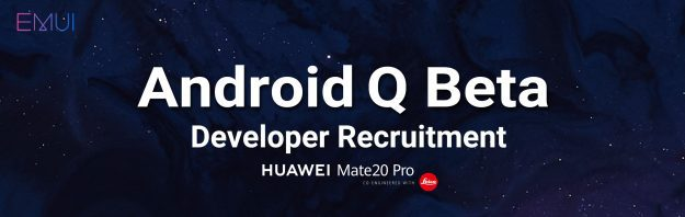 Android Q Beta Huawei