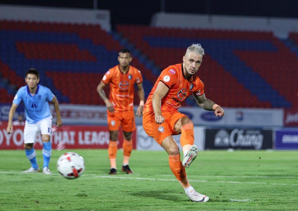 ไฮไลท์ฟุตบอล นครราชสีมา มาสด้า 1 - 0 ราชบุรี มิตรผล| ไทยลีก 2020-21
