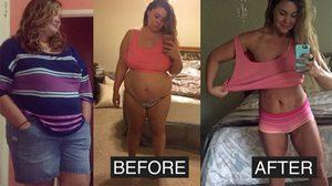 เธอกินเพื่อลืมความเศร้า จนอ้วนหนัก สุดท้ายลุกขึ้นสู้ใหม่ ลดน้ำหนัก 60 กก. ได้สำเร็จ