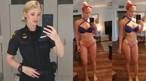 คุณตำรวจครับ ช่วยจับผมที Haley Drew ตำรวจสวย ระดับเกรดเอ