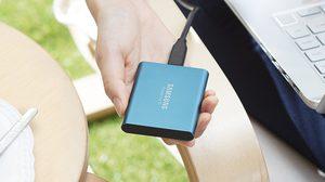 Samsung เปิดตัว Portable SSD T5 ฮาร์ดดิสก์พกพาที่มีการเข้ารหัสเพื่อความปลอดภัยของข้อมูล