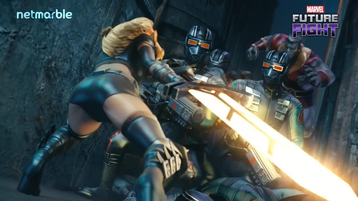 [ตัวอย่างเกม] MARVEL Future Fight เปิดฉาก 4 ซุปเปอร์ฮีโร่ใหม่จาก X-MEN