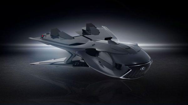 Lexus QZ 618 Galactic Enforcer Jet