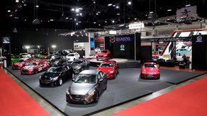 Mazda บุกงานออโต้ซาลอน พร้อมโชว์รถแข่งสุดเจ๋งควงคู่นักแข่งรถฝีมือจัดจ้าน
