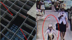 นักศึกษาสาวพลัดตก ท่อระบายน้ำ ปากซอยเมืองเอก