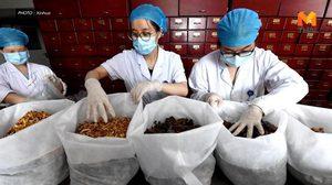 รพ. แพทย์แผนจีนในเจิ้งโจว ลุยผลิต 'ยาต้ม' รักษาโควิด-19