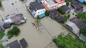 จ.นครศรีธรรมราช ประกาศพื้นที่ประสบภัยพิบัติน้ำท่วมทั้งจังหวัด