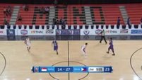 Philippines vs. Singapore Q2 - 5th SEABA Stankovic Cup 2016 May 24, 2016
