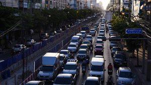 เปิด 5 อันดับ ถนนที่รถติดมากสุดใน กทม.- ปริมณฑล ปี 2561