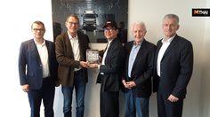 Daimler Trucks Asia เปิดบ้านต้อนรับประธานบริหาร อมตะ คอร์ปอเรชั่น ที่ญี่ปุ่น