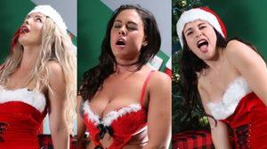จับสาวมา ร้องเพลงบนดิลโด้ กับเพลงคริสต์มาสแครอล ฮามากๆ