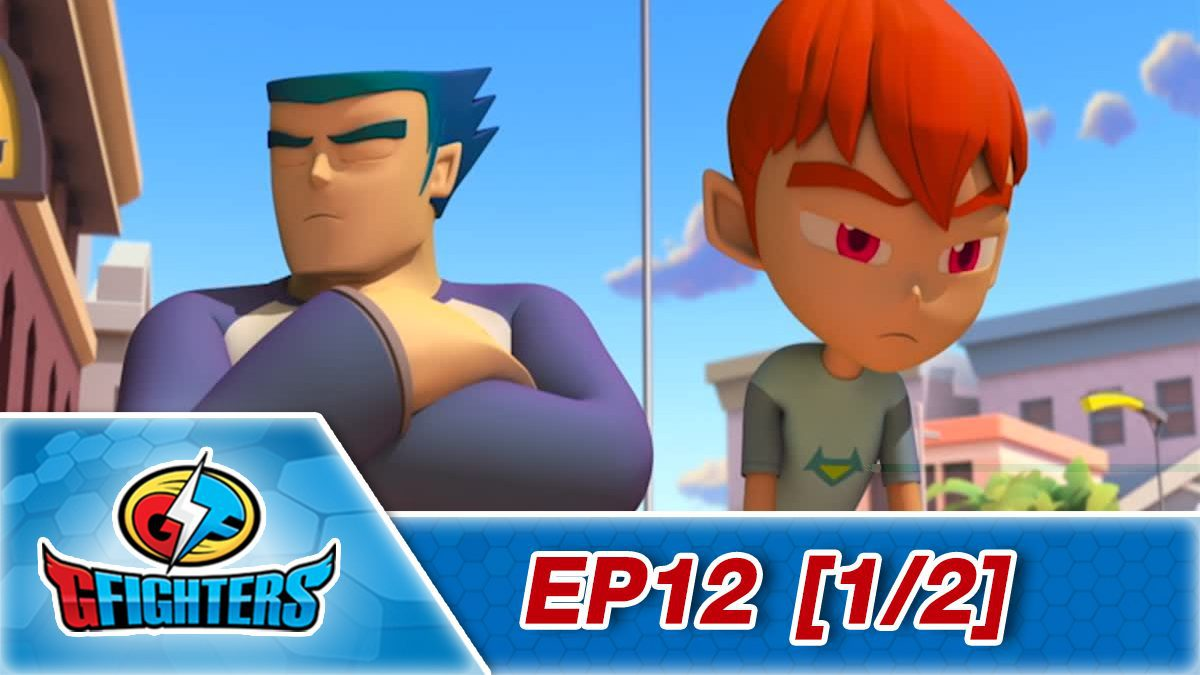 G fighter ep 12 [1/2]