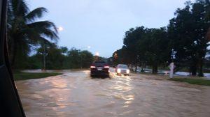 ตรัง น้ำเริ่มท่วมแล้ว หลังฝนถล่มหลายพื้นที่ แนะตามข่าวใกล้ชิด
