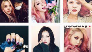 สีผมสวยๆ ของสาว PONY บล๊อกเกอร์ชื่อดังของเกาหลี