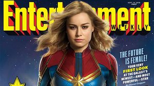 กัปตันมาร์เวล เผยโฉม!! บนปกนิตยสาร Entertainment Weekly ฉบับล่าสุด