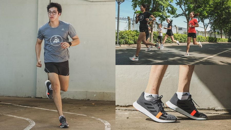 adidas Running Senseboost Go เพลิดเพลินทุกจังหวะการวิ่งไปกับเพลย์ลิสท์สุดพิเศษ