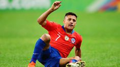สงสัยต้องพักอีกแล้ว! อเล็กซิส เจ็บข้อเท้า เกมรับใช้ทีมชาติชิลีอุ่นเจ๊าโคลอมเบีย